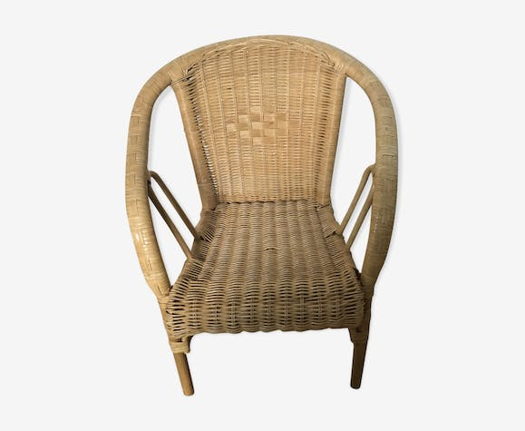 Children's chair in rattan