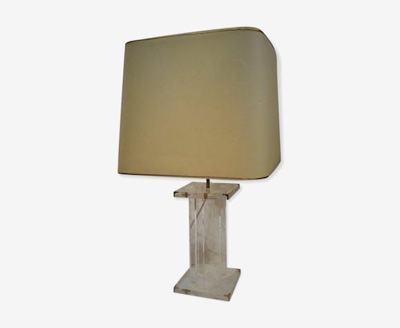 Lampe en plexiglass Roche Bobois années 70 | Selency