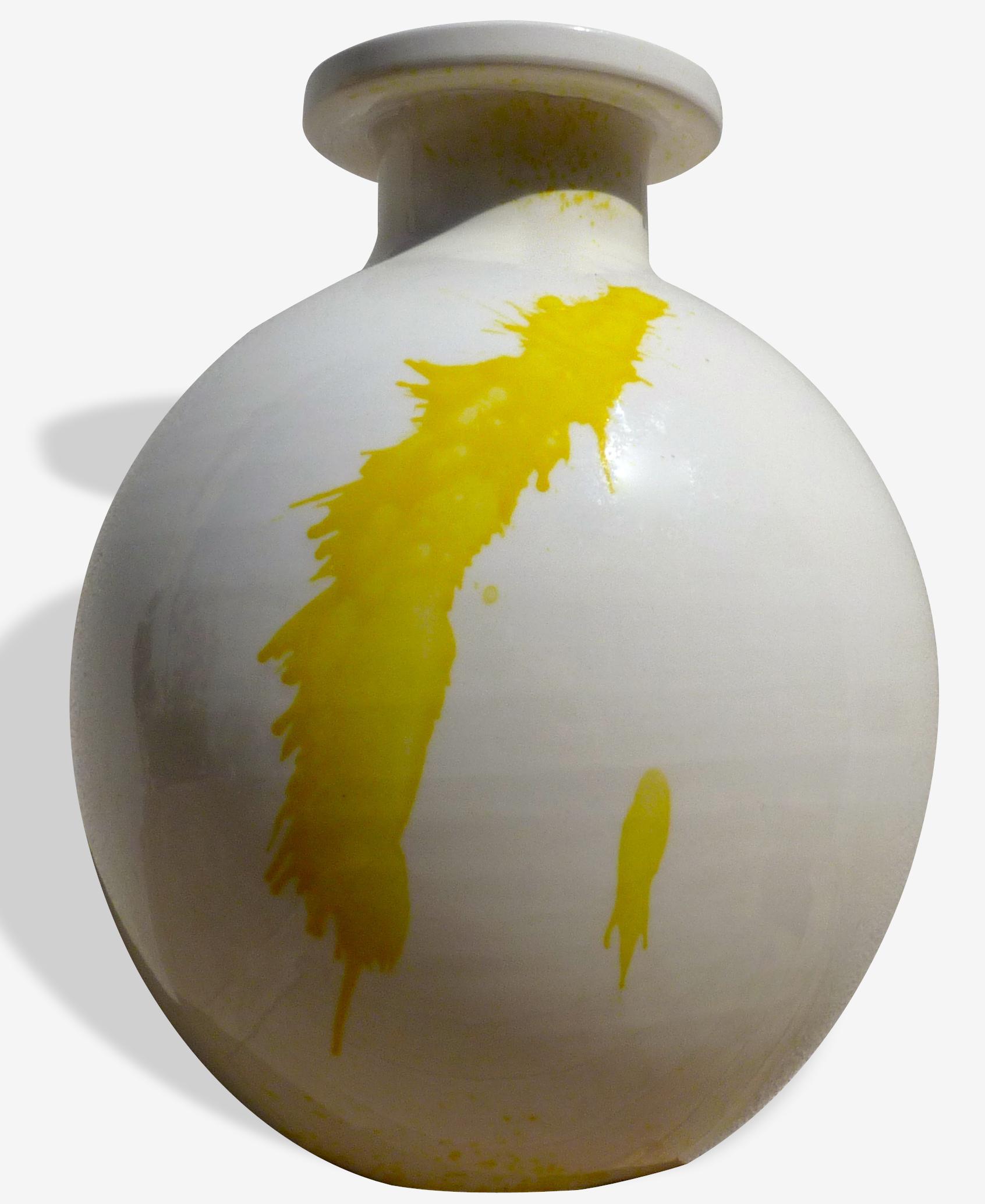 Vase en terre cuite B. Hermani