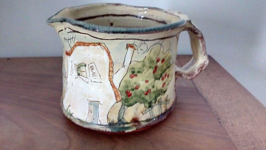 Pichet poterie enfantine
