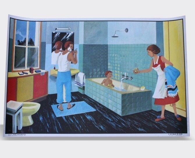 Ikea Salle De Bain Dynan ~ affiche scolaire vintage hachette et og salle de bain magasin