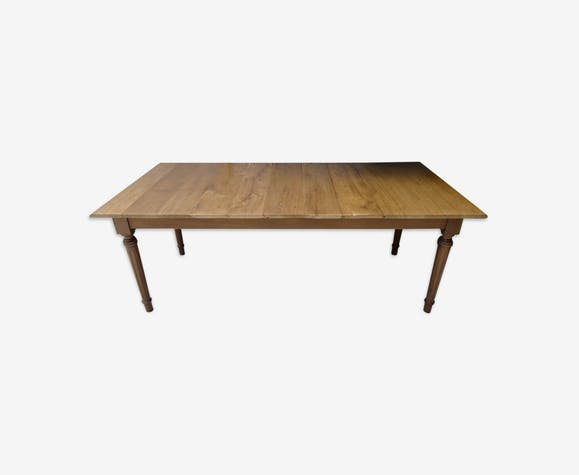 Table de ferme de 2 m en chêne massif