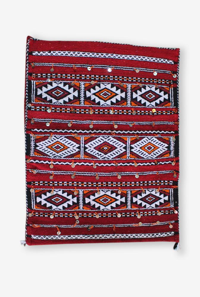 Kilim Zemmour / Housse De Coussin / Laine de Mouton / Amazigh / Tribal