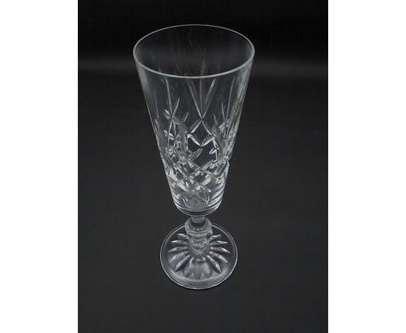Edinburgh crystal champagne flute