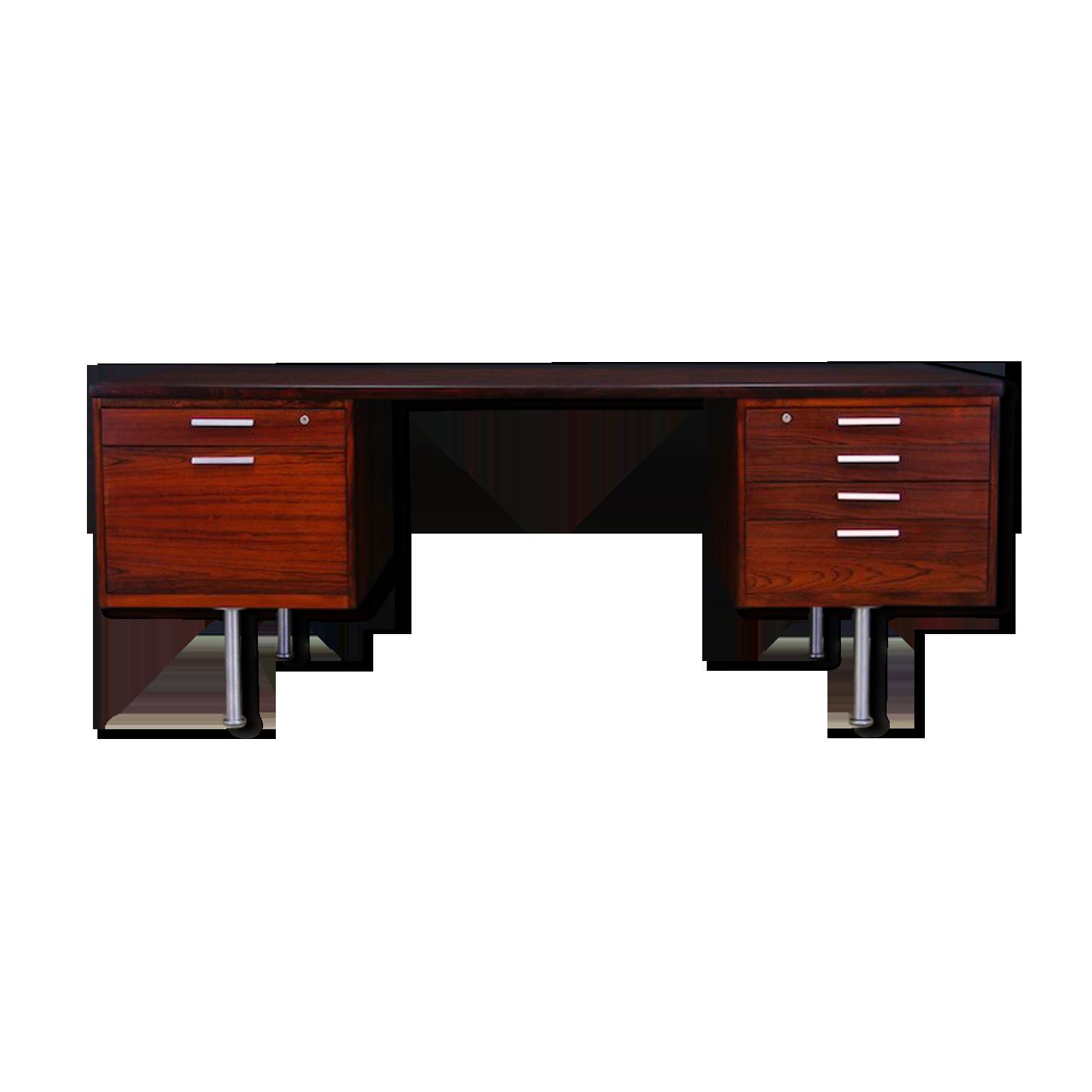 Bureau danois design bois matériau bois couleur