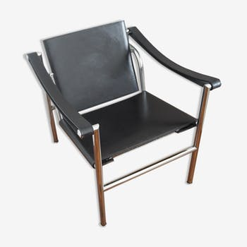 Chair LC1 by Le Corbusier, Cassina edition