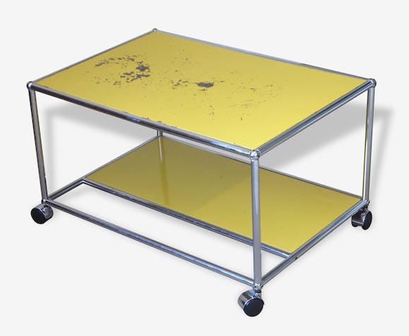 Desserte Table Basse Roulante Usm Haller Design Fritz Haller
