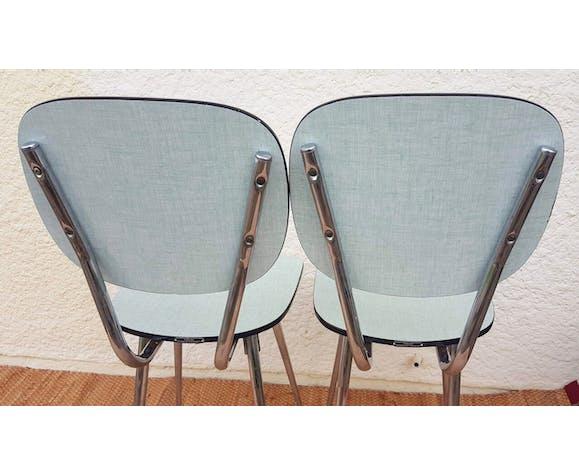 Duo de chaises en formica