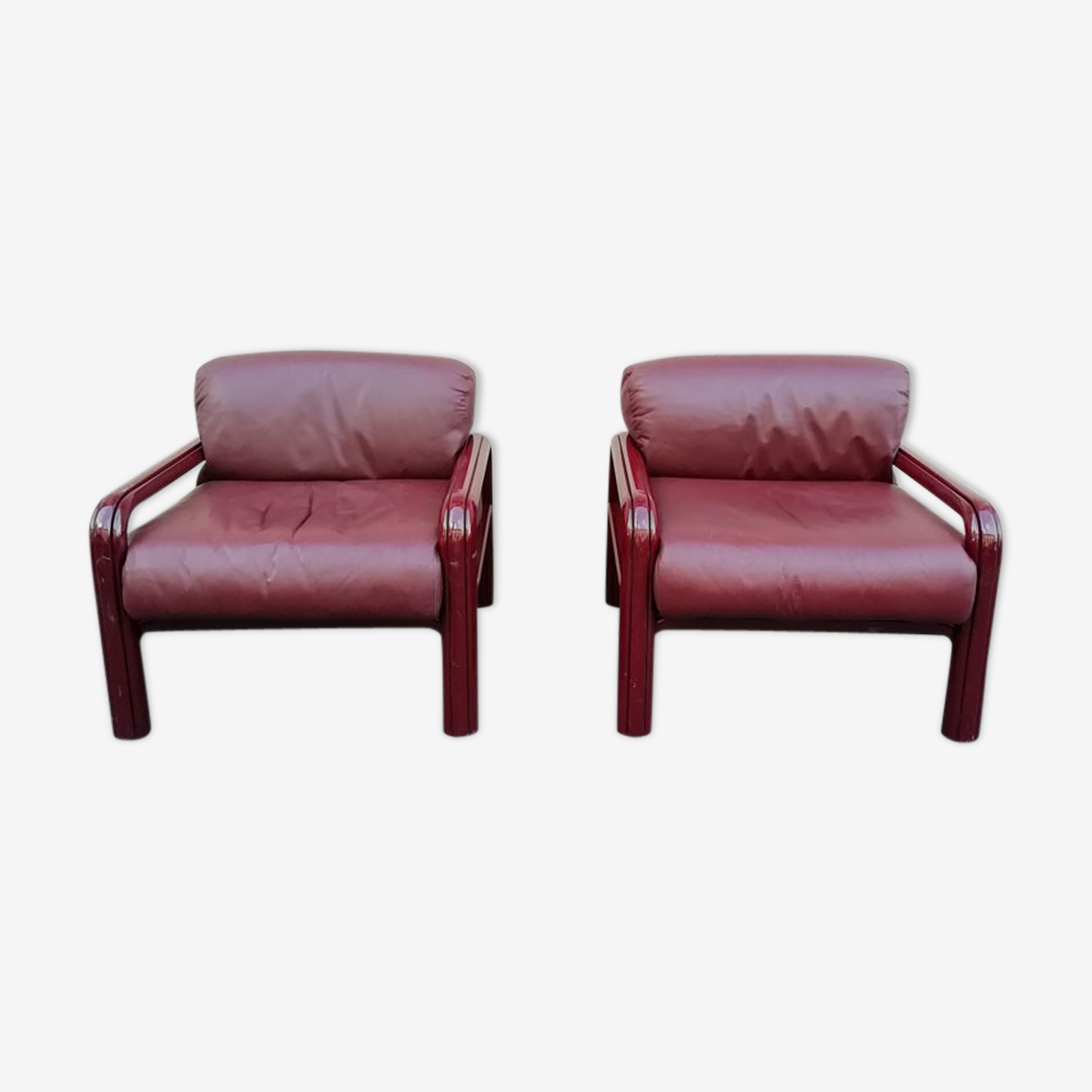 Pair of armchairs Gae Aulenti