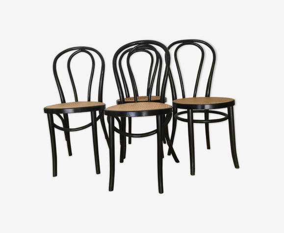Lot de 4 chaises bistrot
