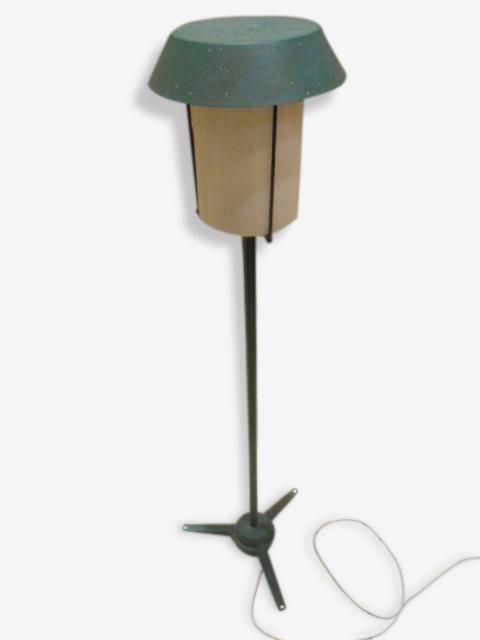Lampadaire métal 1950'