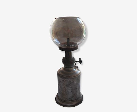 Lampe Pigeon Les Hirondelles A Essence Minerale Brass Silver