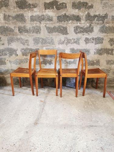 Lot de 4 chaises stella