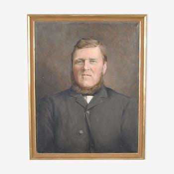 Portrait de notable suédois, XIXème