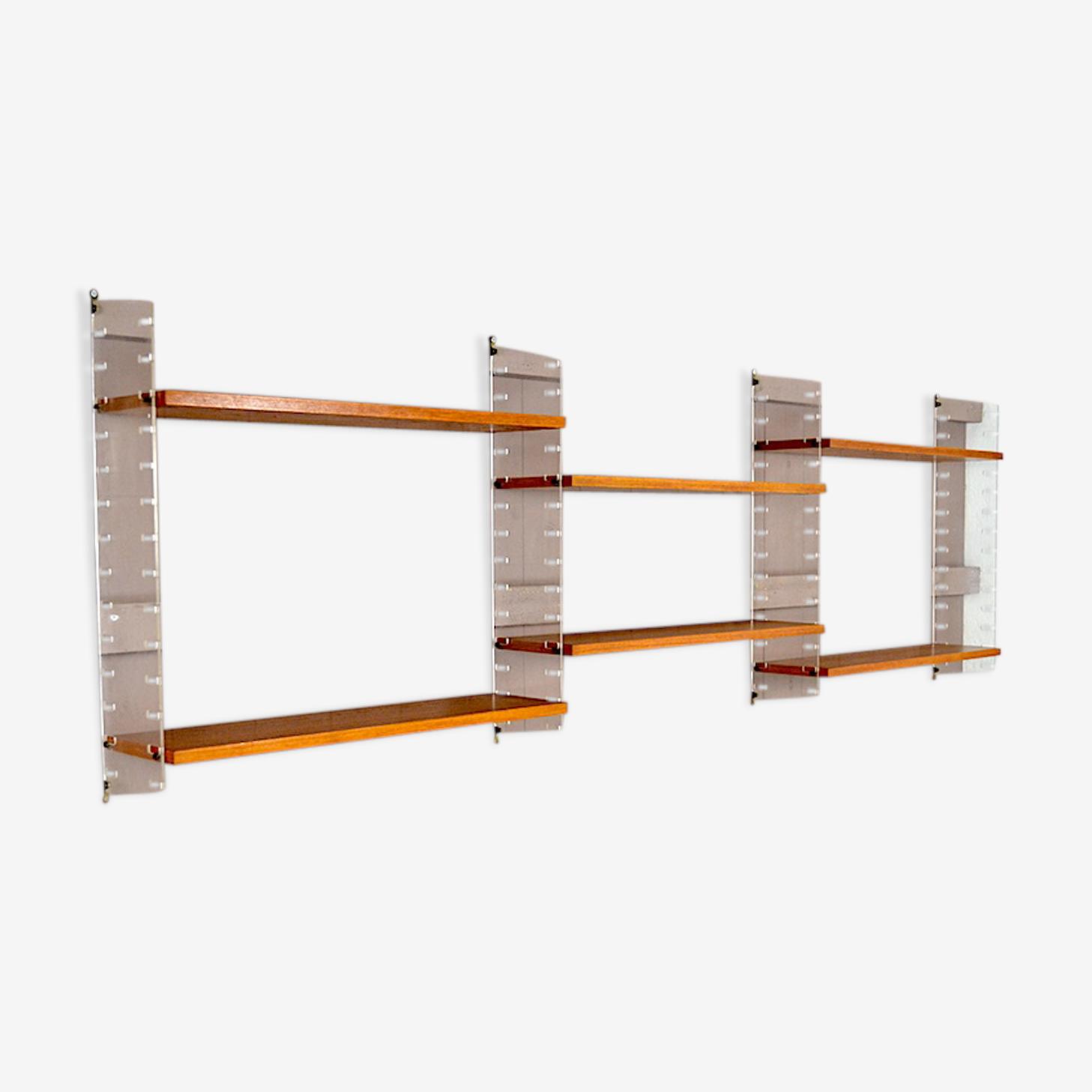 Shelf String Design Scandinavian Nils Strinning Vintage 1960