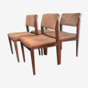 4 scandinavian chairs by Thonet 1960