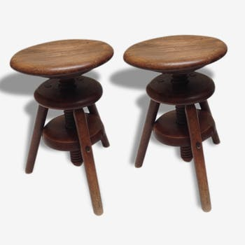 Pair of stool with screw