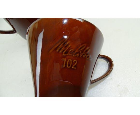 Cafetière et filtre melita 102