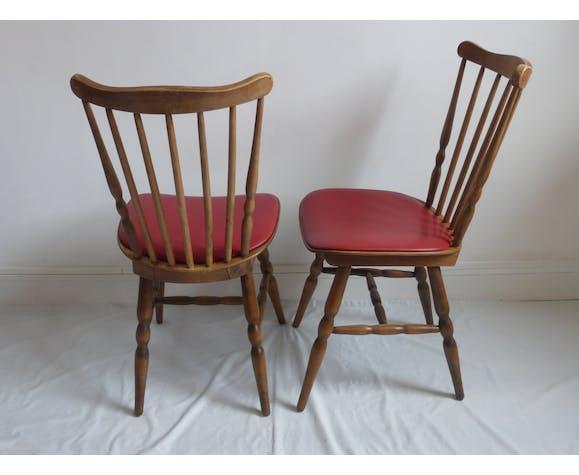 Paire de chaises Baumann Tacoma