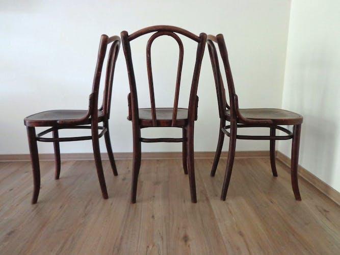 Chaise vintage n° 23 par Michael Thonet
