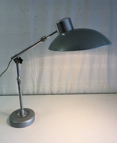 Industrial articulated lamp by Ferdinand Solere 1950