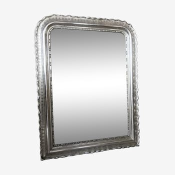 Mirror in white gold, Middle XIX: 118 x 90 cm
