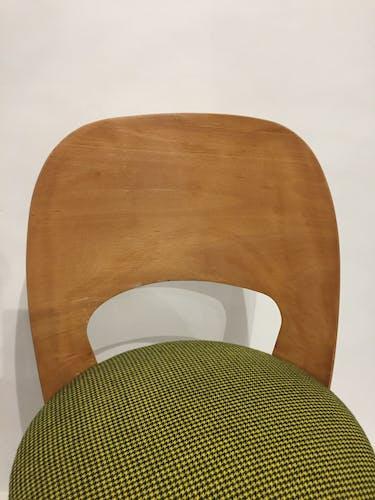 Retaped barrel chair