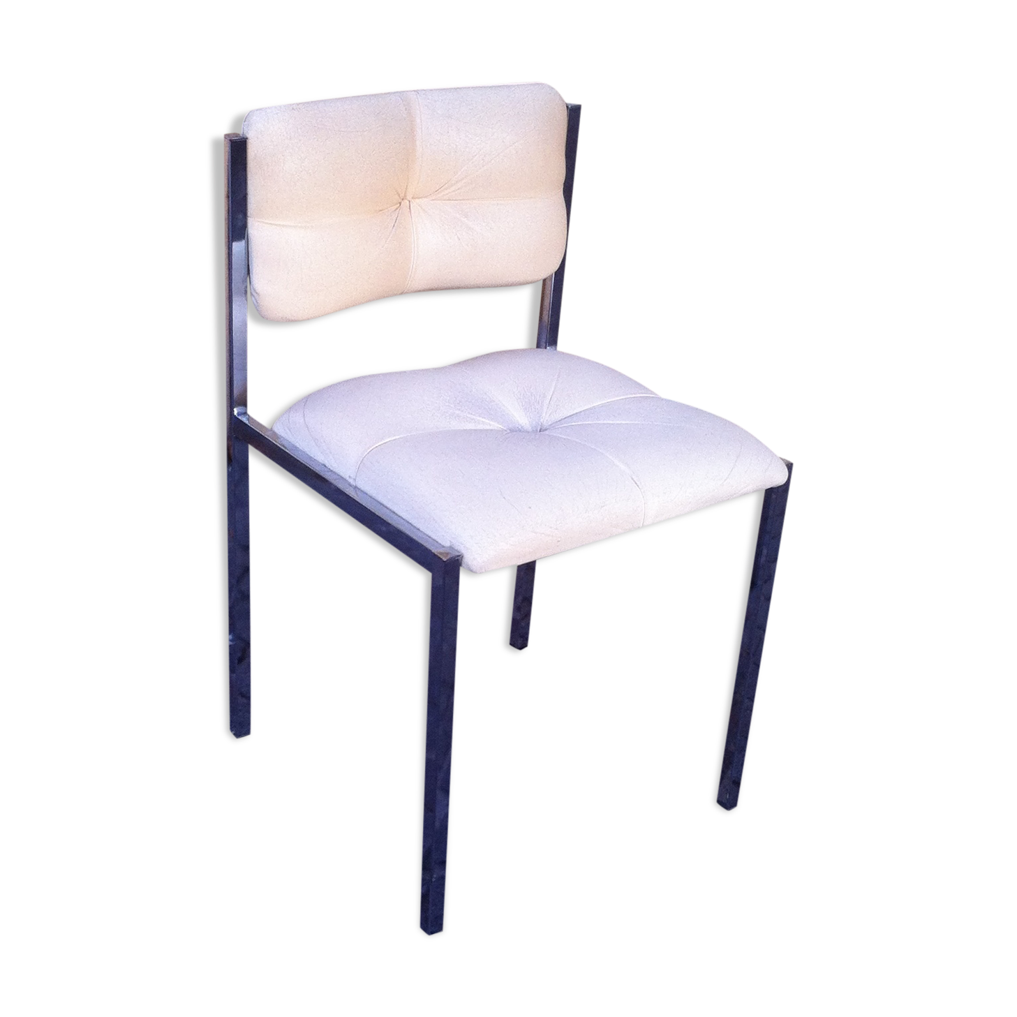 chaises en cuir blanc free chaise cuir blanc with chaises en cuir blanc full size of chaisela. Black Bedroom Furniture Sets. Home Design Ideas