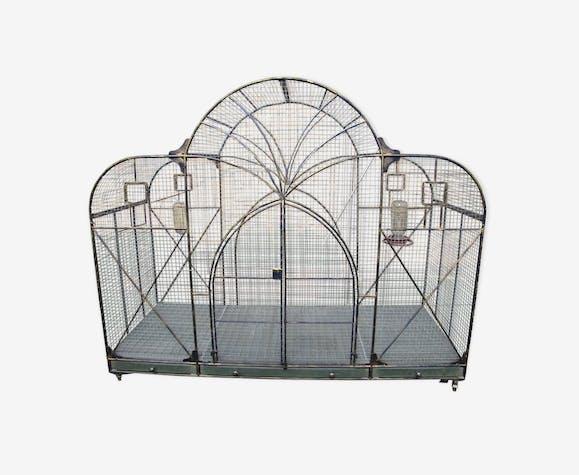 Cage à oiseaux volière XXL pour véranda ou extérieur