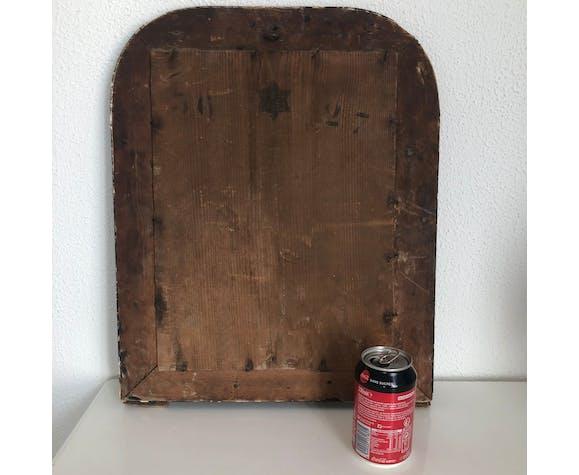 Ancien miroir de cheminée Louis Philippe 50x40cm