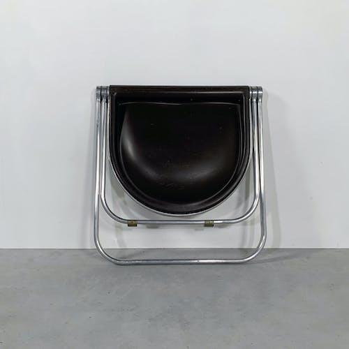 """Tabouret """"Pluff"""" Pliable par Giancarlo Piretti pour Castelli, 1970"""
