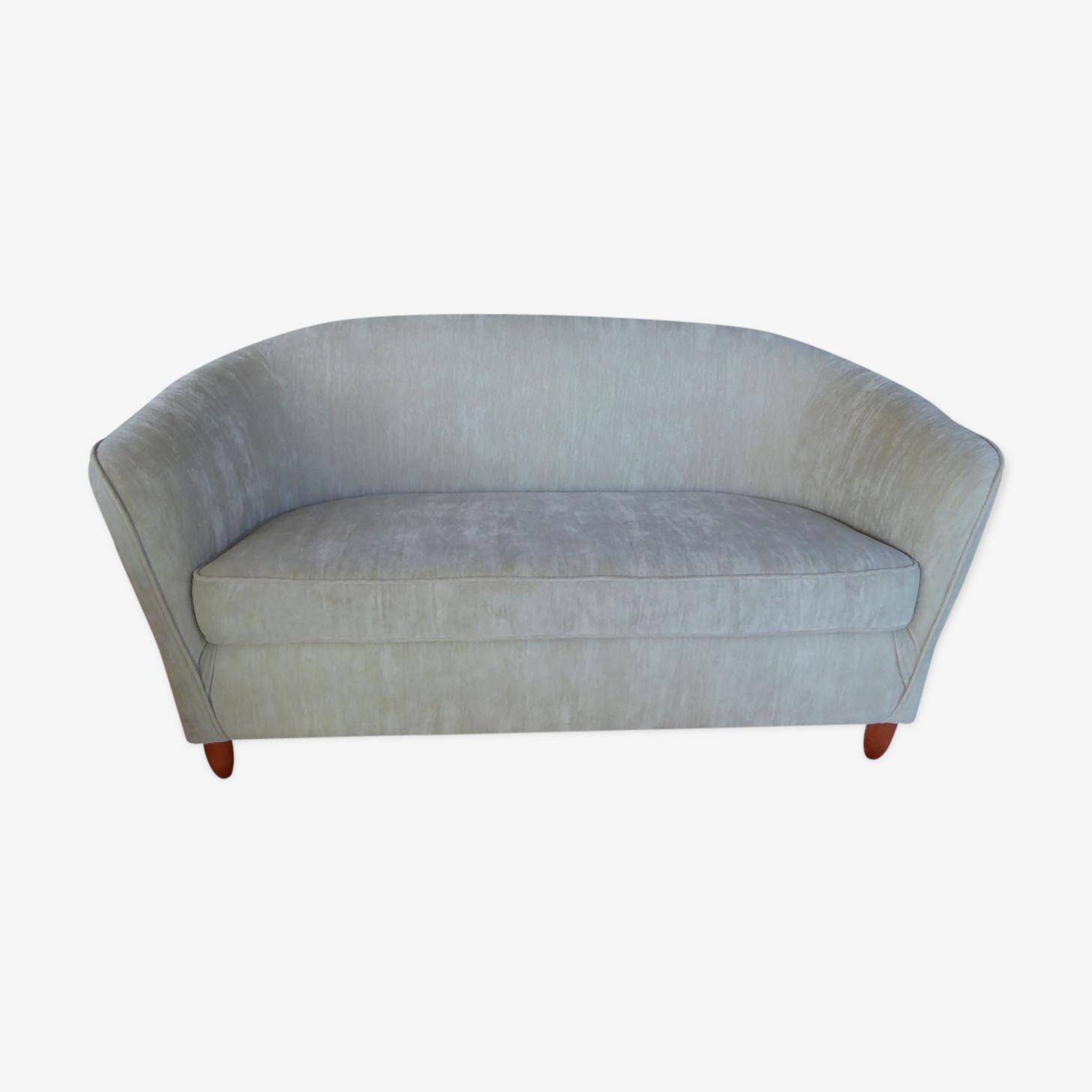 Sofa gray Velvet