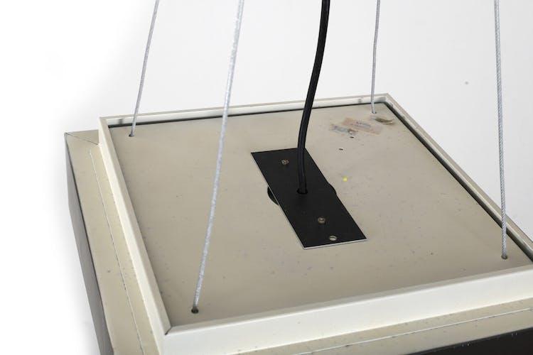 Suspension Lyfa carrée des années 1970