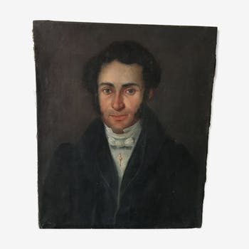 19th man portrait