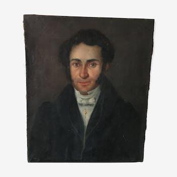 Portrait homme XIXème