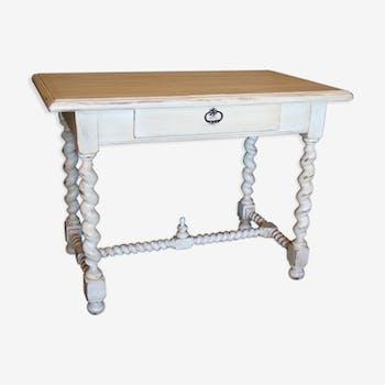 Bureau style Louis XIII shabby chic