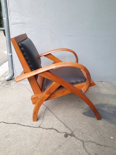 Fauteuil style colonial