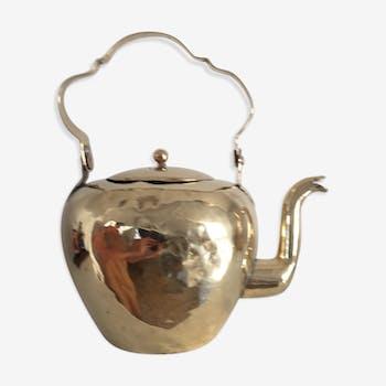 Napoleon III period gilded copper kettle