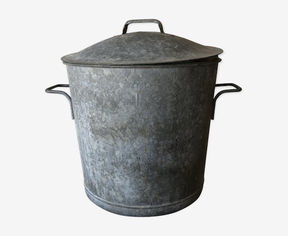 Seau en zinc