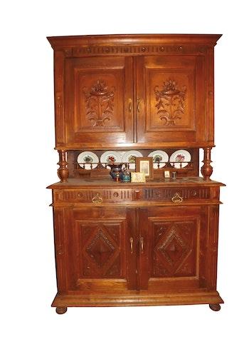 Buffet Vaisselier Ancien Sculpte Selency
