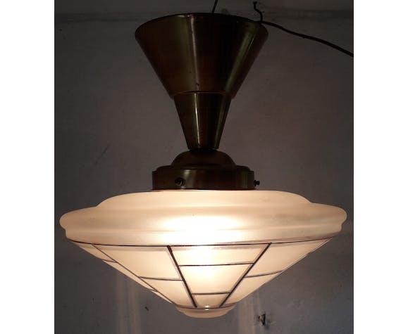 Art deco hanging lamp