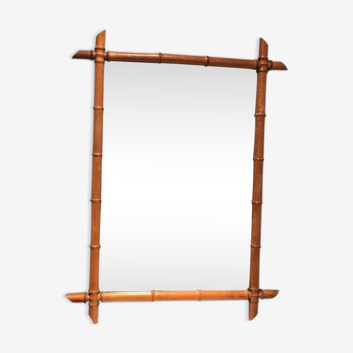 Miroir bambou 82x55cm