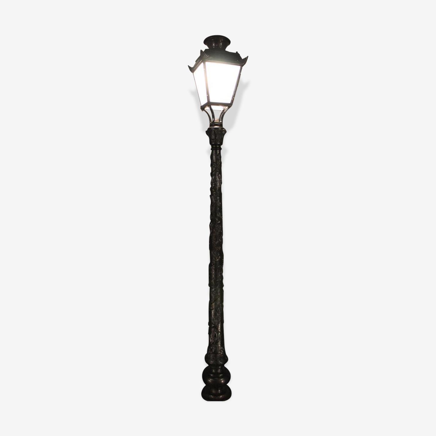 Lampadaire de rue 1900-1930