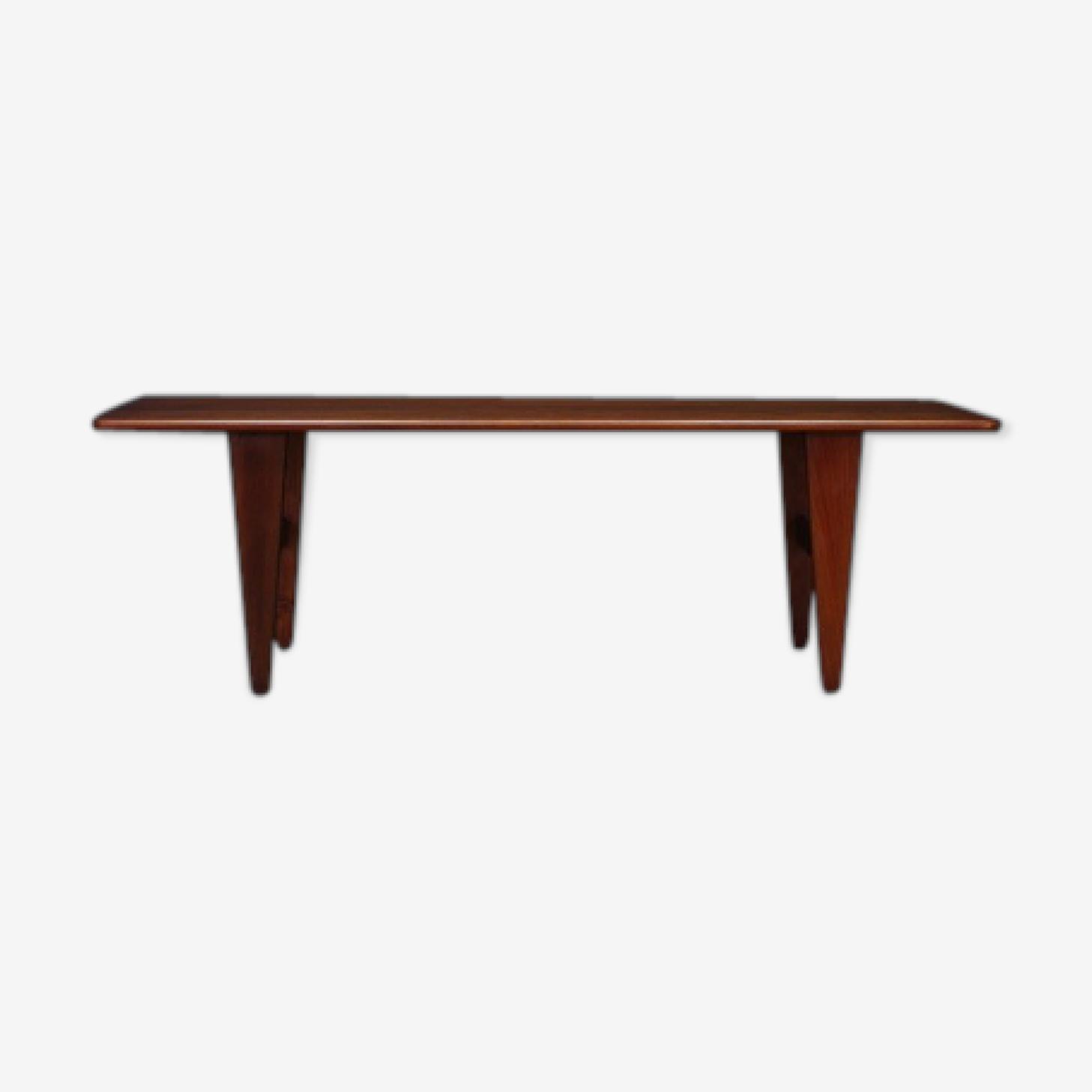 Table basse en teck, design danois