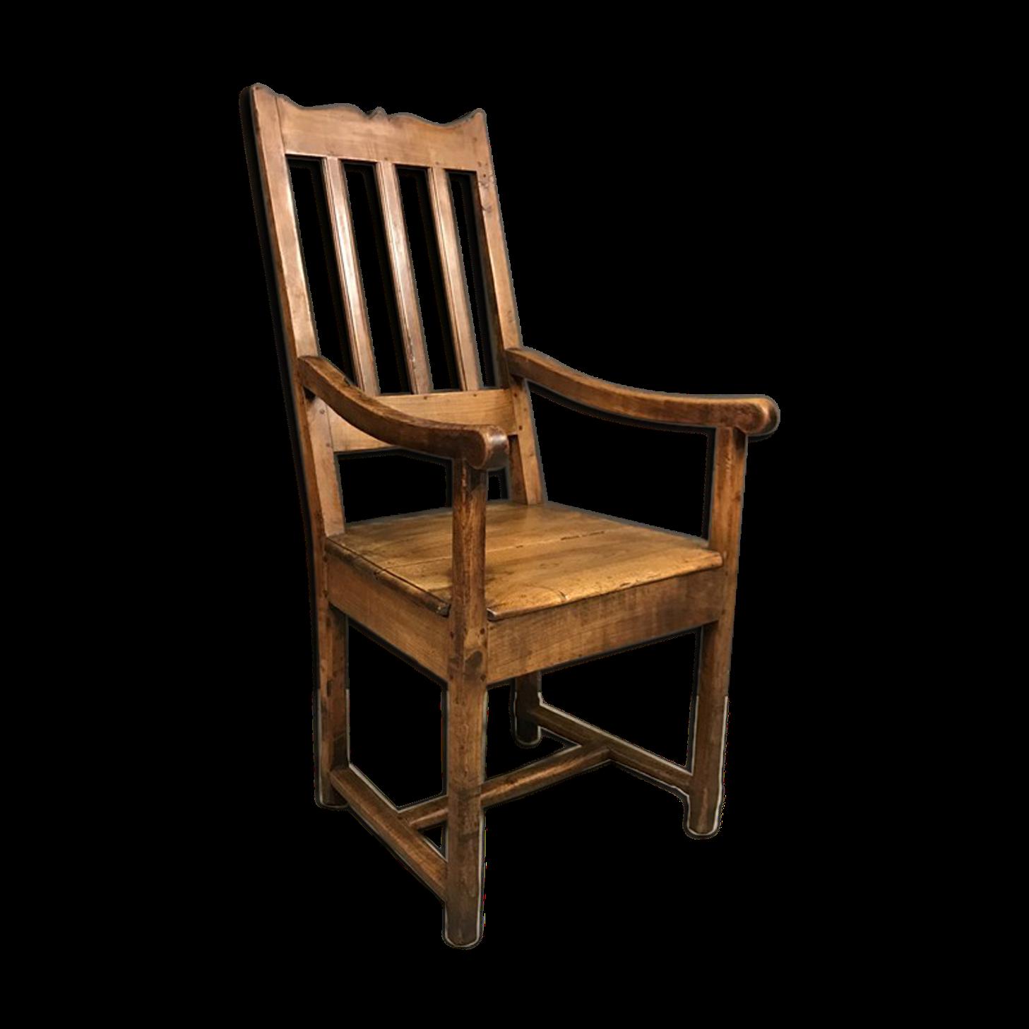 chaise ancienne cuir et bois. Black Bedroom Furniture Sets. Home Design Ideas