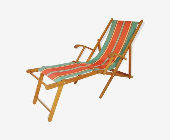 Années Multicolore Qnzwxom Vintage Tissu 60 Transat 3RALj54