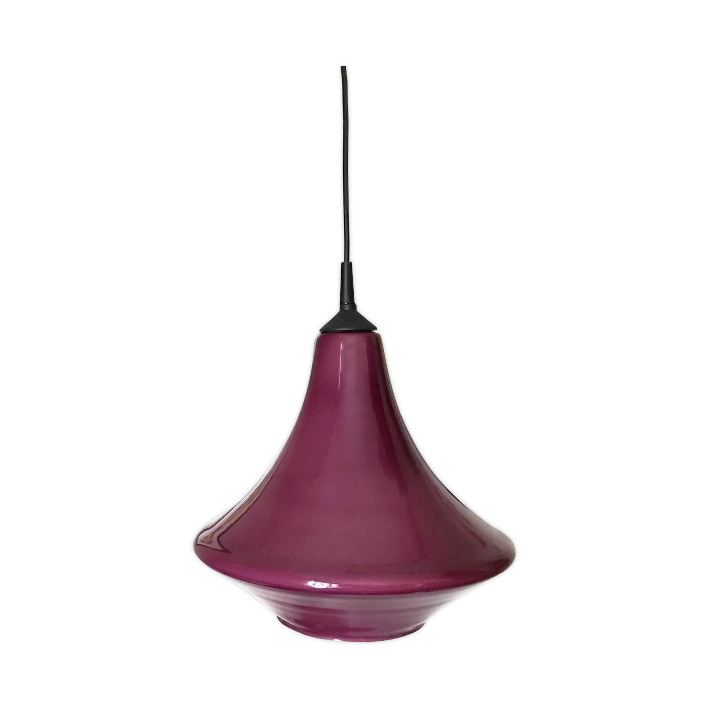 Bazaar 10 x acryliques perles violettes de cristal lustre guirlande mariage suspendus d/écor de partie