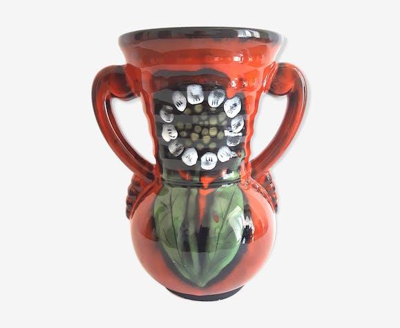 Vase céramique vintage années 60