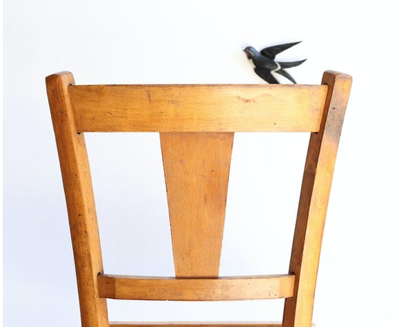 Chaise bistrot années 50