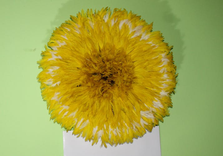 Juju hat jaune de 40cm